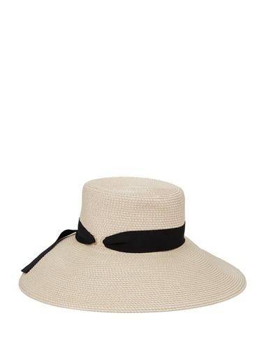 Eric Javits Eric Javits   Bağlama Detaylı Kadın Şapka 101635844 Krem